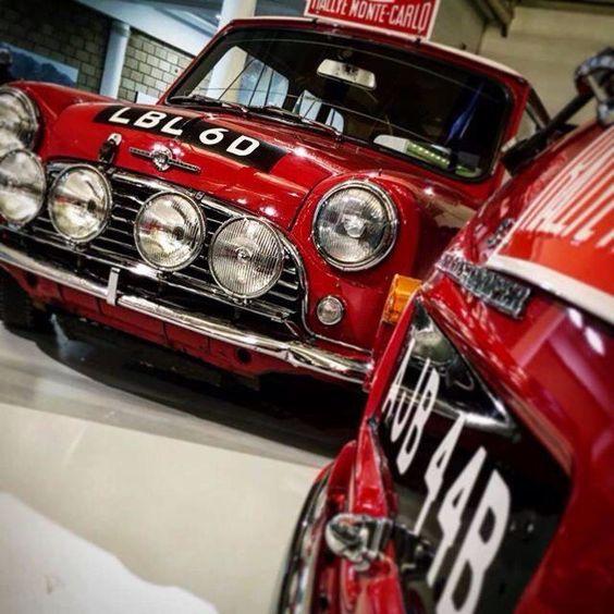 New Mini display at British Motor Museum