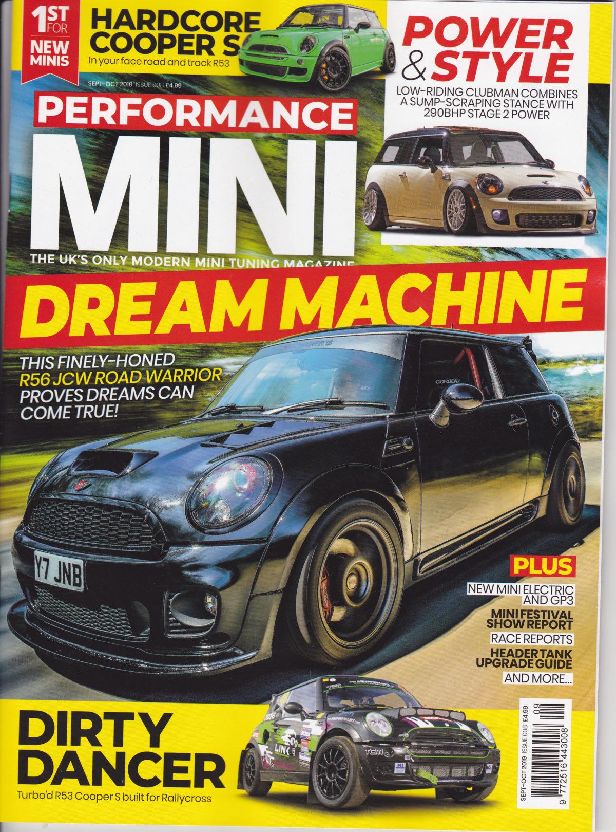 Club in Performance MINI magazine
