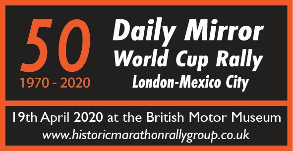 World Cup Rally 50 postponed