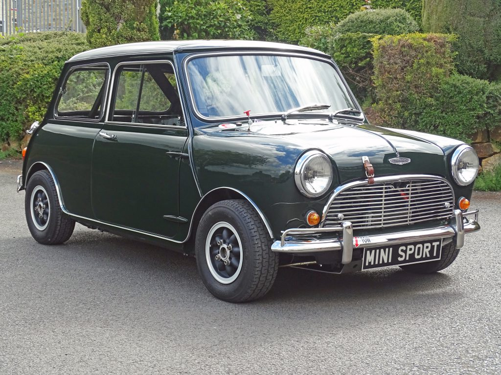 1964 Mini Cooper S Restoration
