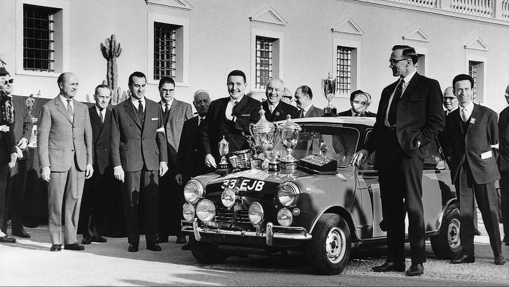 6 Facts About Paddy Hopkirk and the Monte Carlo Rally